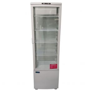 Used Curved Door Display Fridge 235Ltr White