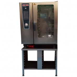Used Rational 10 Grid White Efficiency SCC Combi Oven, Gas