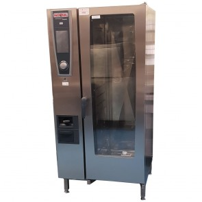 Used Rational 20 Grid White Efficiency SCC Combi Oven, Gas, only 2 years old