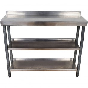 Used Stainless Steel Shelves
