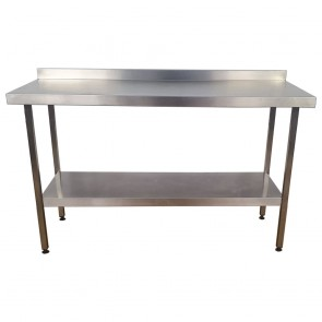 Used Stainless Steel Table 150cm Wide