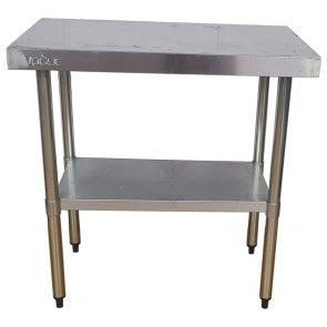 Used Stainless Steel Table 90cm Wide