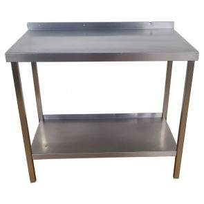 Used Stainless Steel Table 100cm Wide