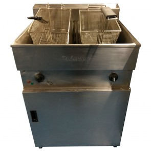 Used Valentine Evo Twin Fryer