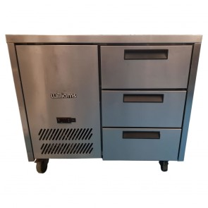 Used Williams HJC1SA refrigerated counter unit