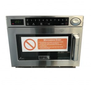 Used Buffalo programmable microwave oven