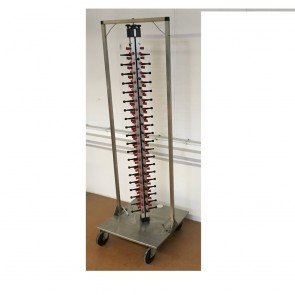 Used mobile plate rack