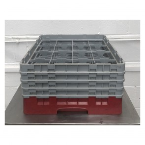 Used warewasher rack (16 compartment rack)