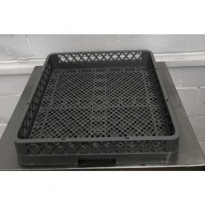 Used warewasher rack (cutlery)