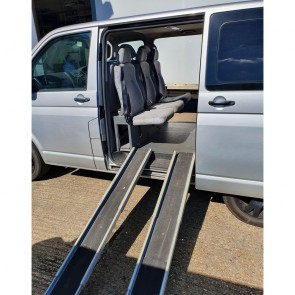 Volkswagon Transporter Seats, Ramp, Internal Panels, and Rear Heater