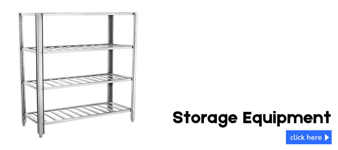 browse our used stainless steel shelving and storage equipment
